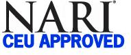 Qualifies for NARI Continuing Education Units