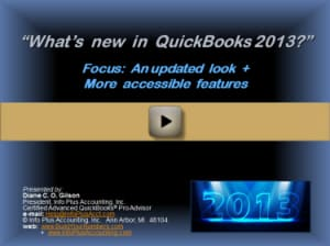 What's New in QuickBooks 2013?