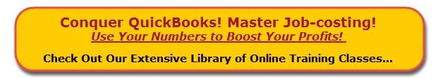 Online QuickBooks Training Classes