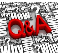 Use questions to generate answers