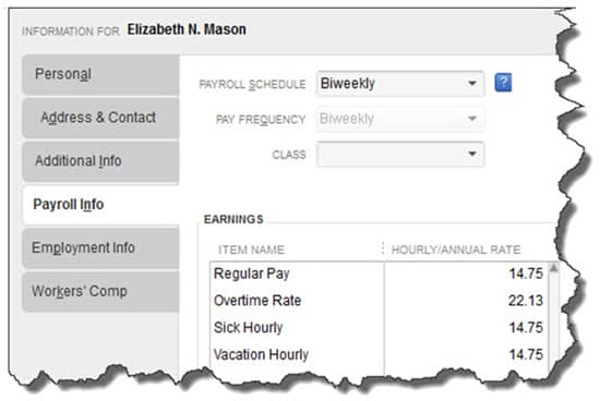 how to add an employee to payroll in quickbooks
