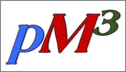 pM3 logo